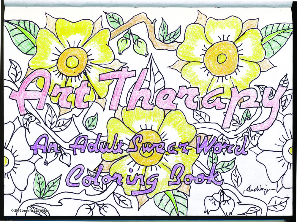 Etsy Listing 267426191 Art Therapy An Adult Swear Word Coloring