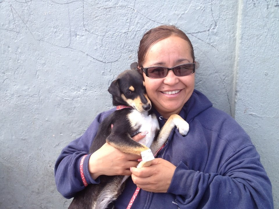 Mexican woman with dog.jpg