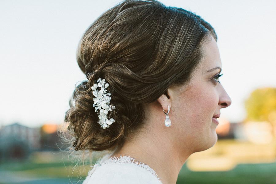 Salem Waterfront Hotel Wedding | Bridal Hair | Kelly Burgess Photography