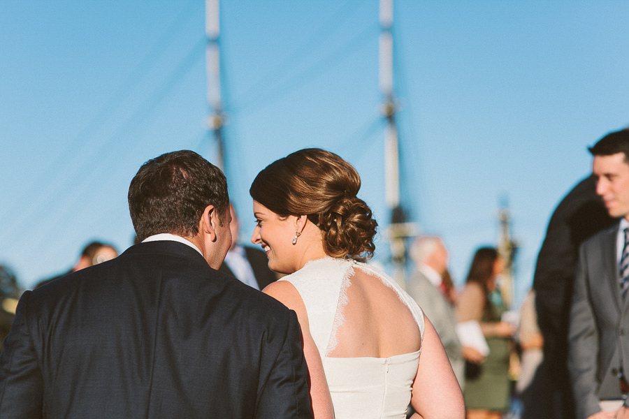 Bride and Groom | Salem Waterfront Hotel Wedding | Kelly Burgess Photography