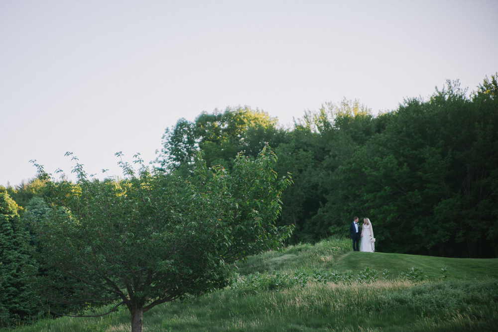 Bride and Groom Portrait | Ranch Golf Club - Southwick, MA | Kelly Burgess Photography