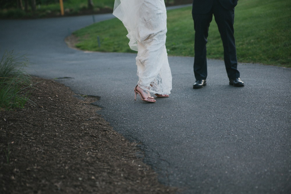 Bride and Groom Wedding Shoes | Ranch Golf Club Wedding - Southwick, MA. | Kelly Burgess Photography