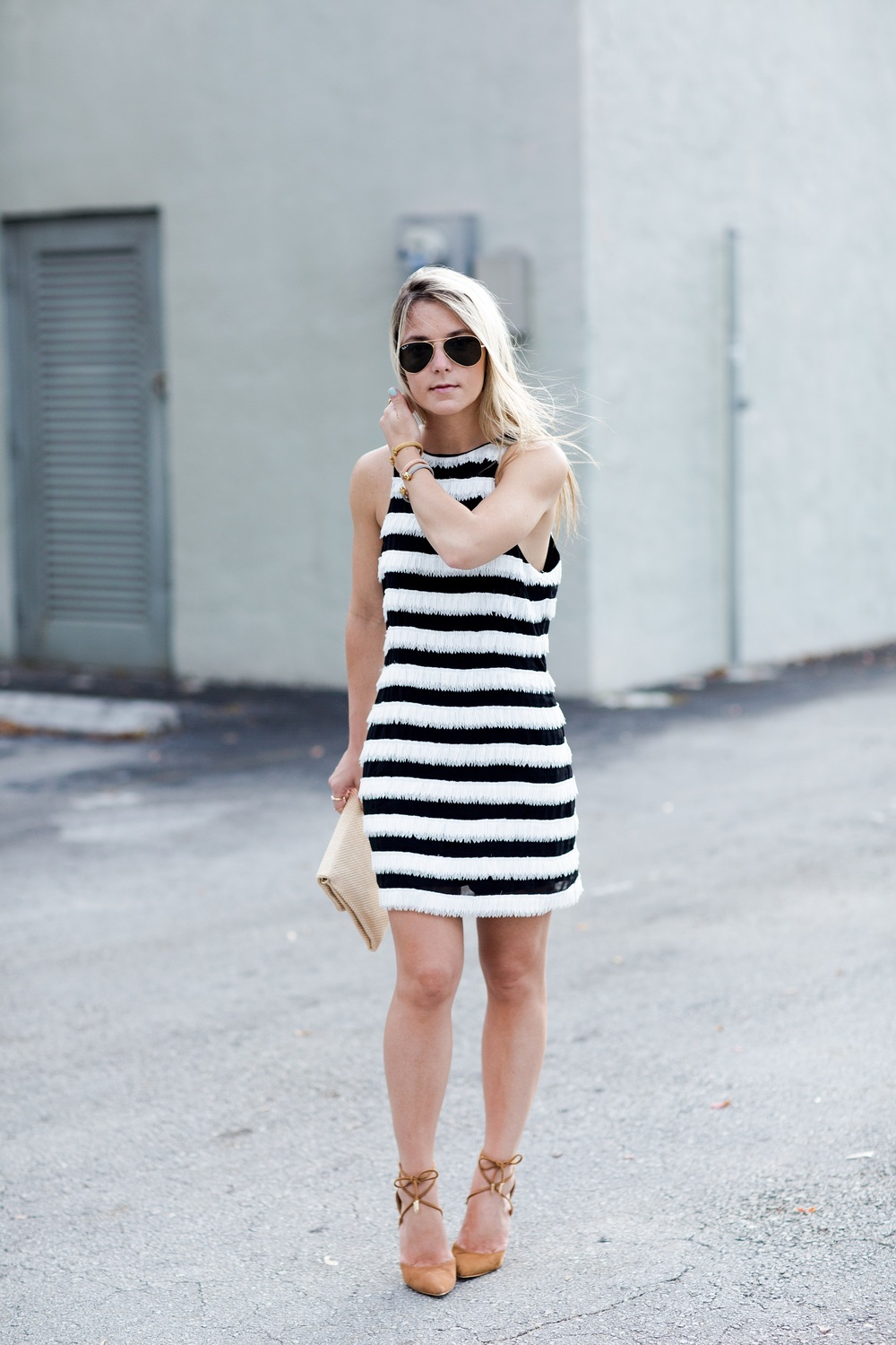 elliatt_blogger_black_white_monochrome_Dress
