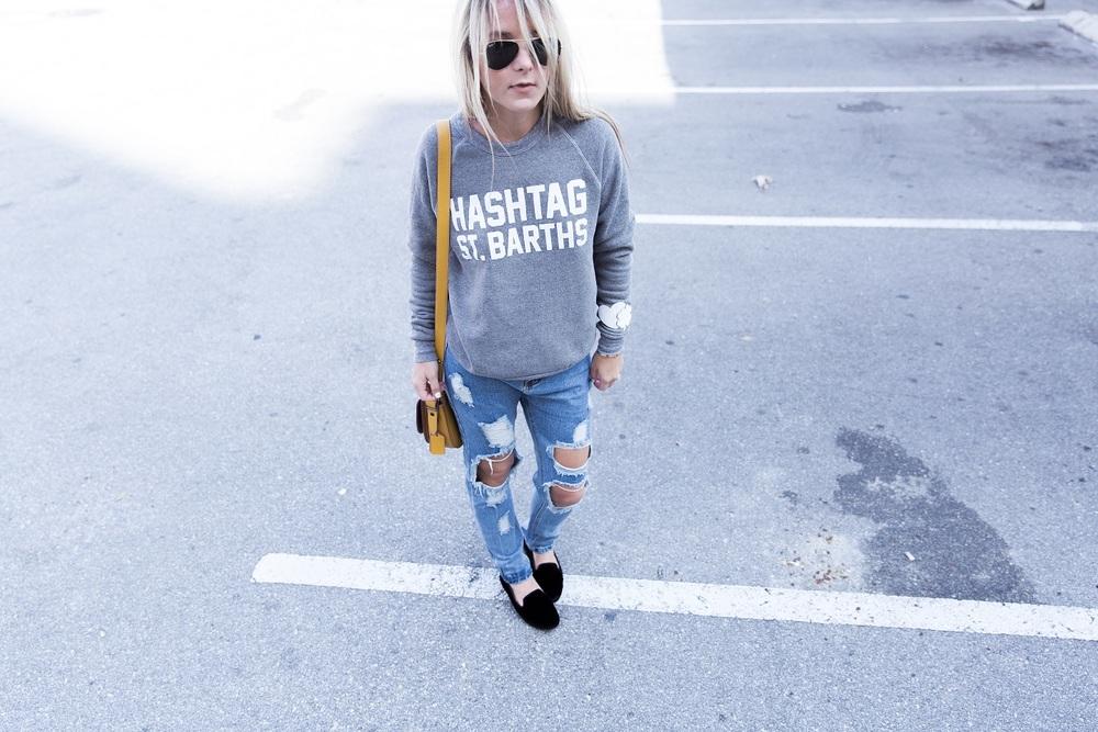 off_duty_blogger_Sweatshirt