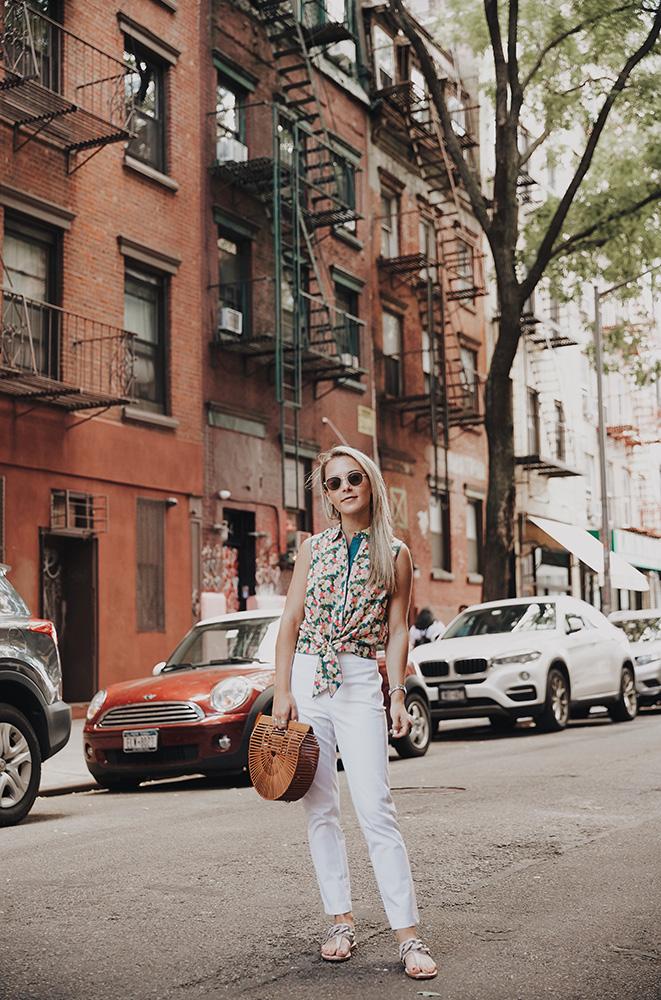lafayette-white-pants-floral