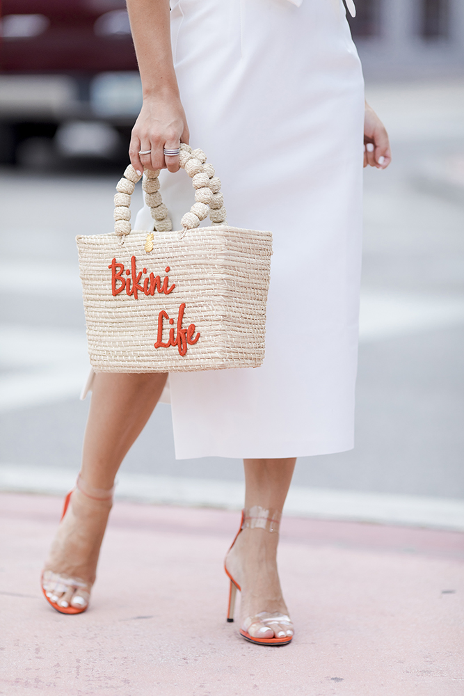 bikini life bag with shoes