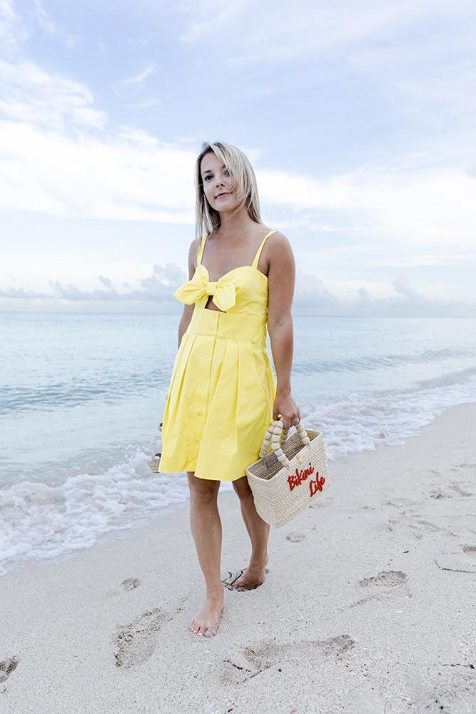 Milly-yellow-cotton-poplin-jordan-tie-dress
