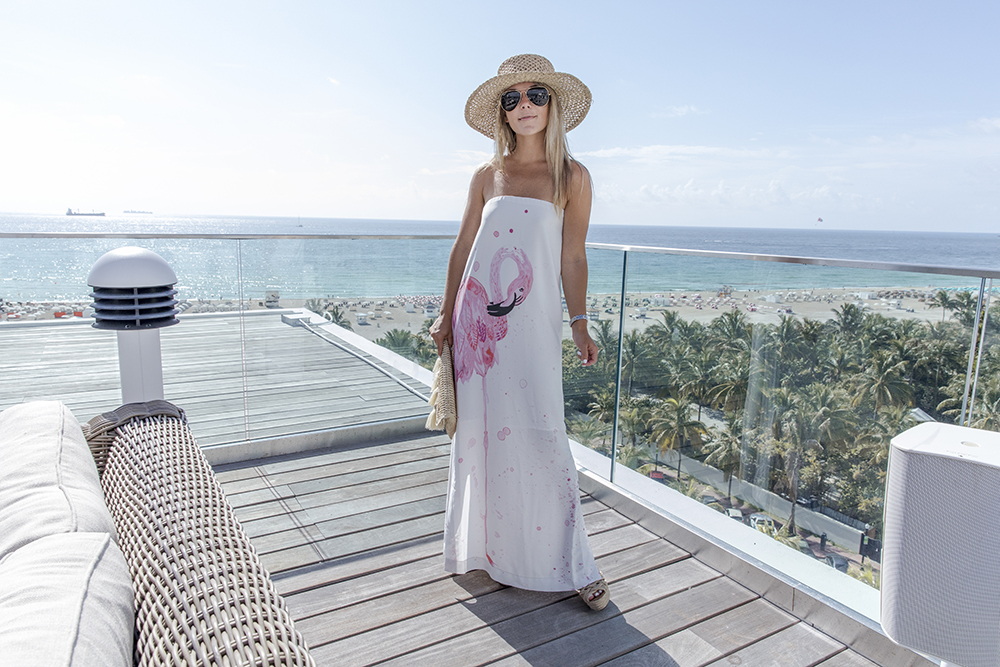 rachel roy flamingo maxi dress