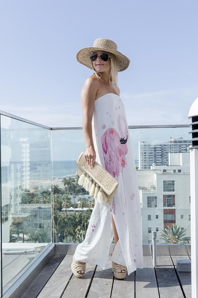 flamingo maxi dress1