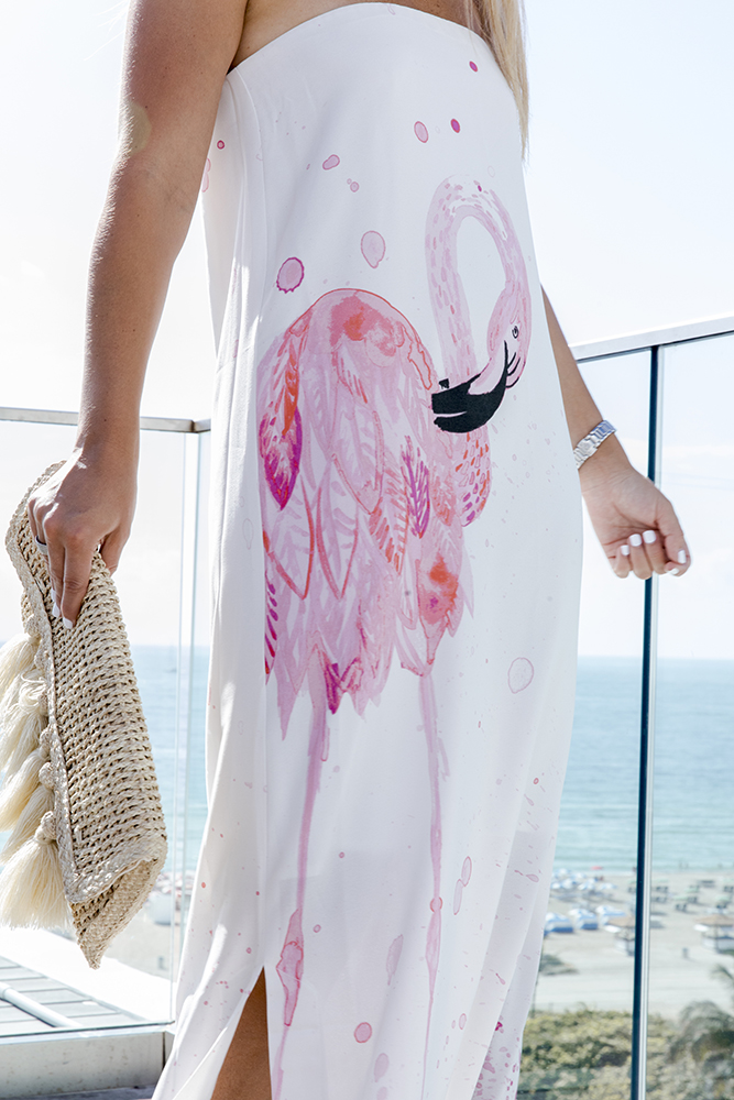 rachel roy flamingo maxi dress summer