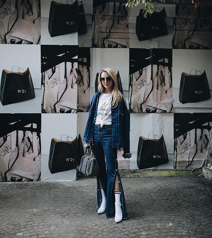 milan fashion week n21 denim