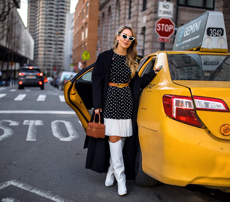 polka-dot-dresses-2019-spring-trends-1