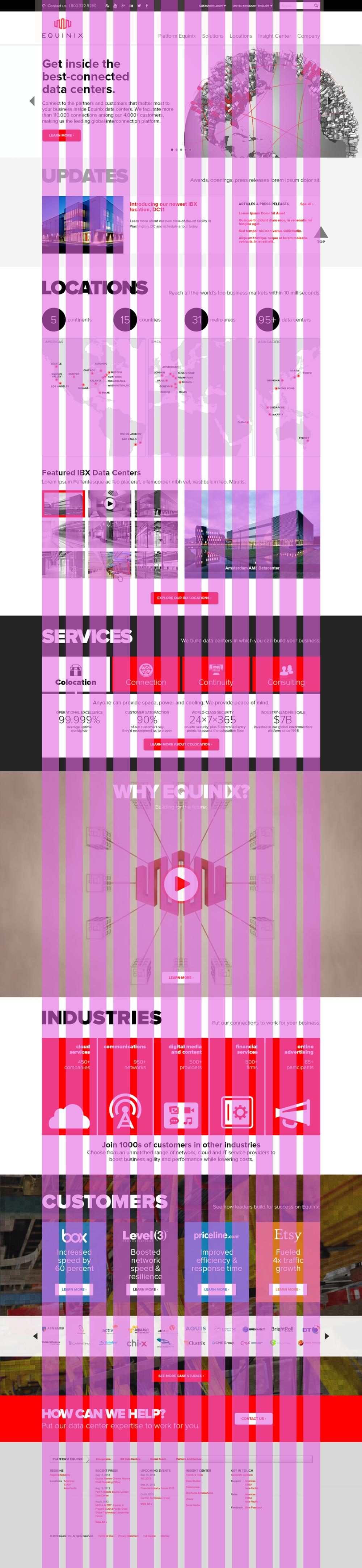 Design grid overlay