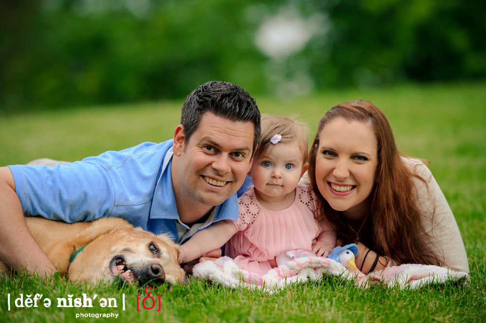 Family Photo Session - Ashley, Dan and Lucy + Basket
