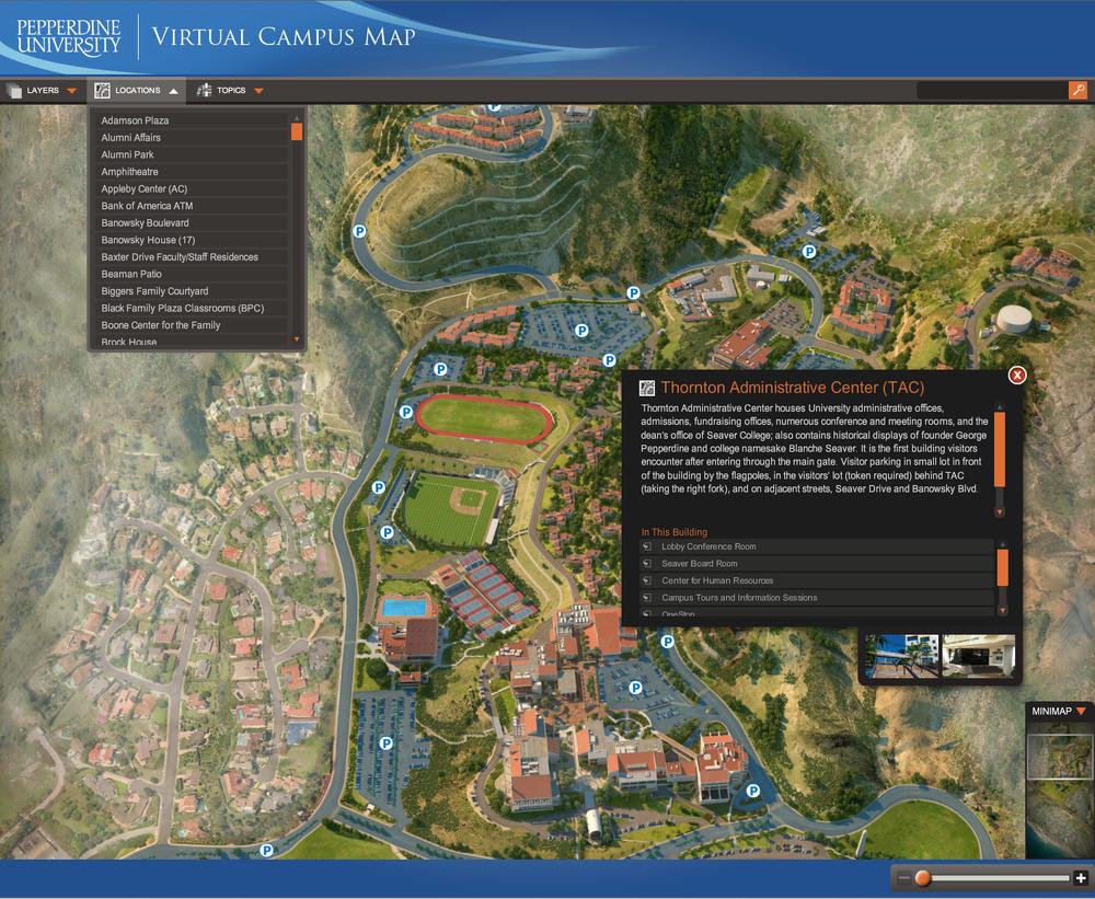 Interactive Virtual Map