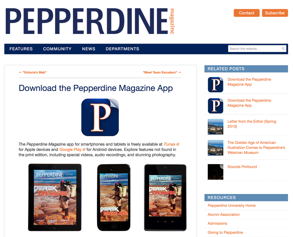 Digital Magazine & App