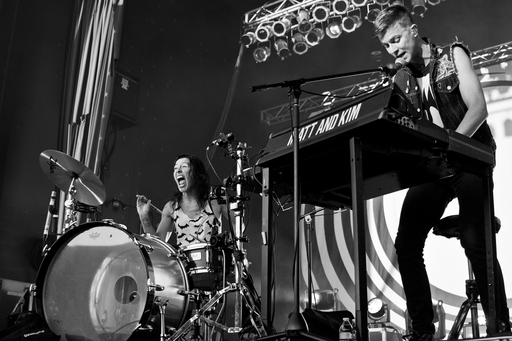 Matt & Kim - CD102.5 SummerFest 2016