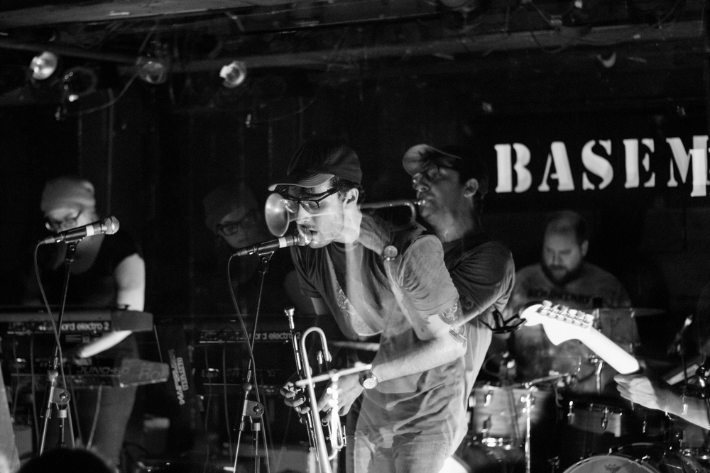 Foxing - The Basement - Spring 2016
