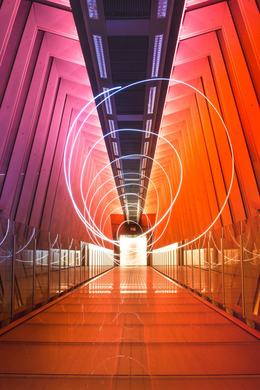 15 sec Long Exposure Shot on my favorite bridge in Columbus.