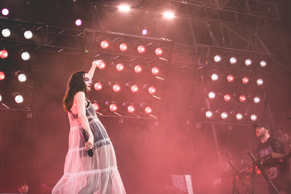 Chvrches - Lollapalooza 2018