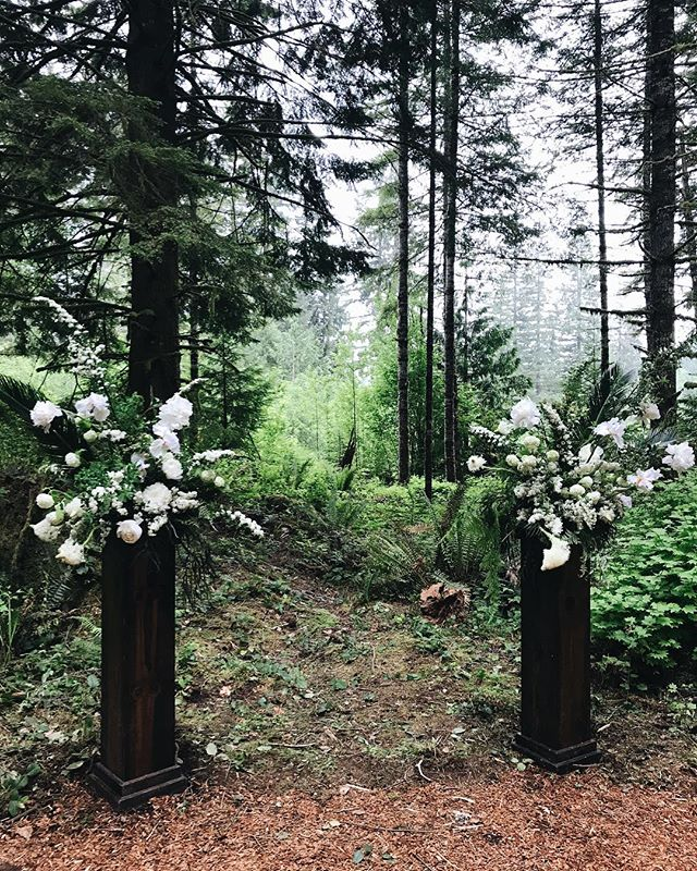 Wedding #1: Morning ceremony in the woods 🙌🏼✨🌲