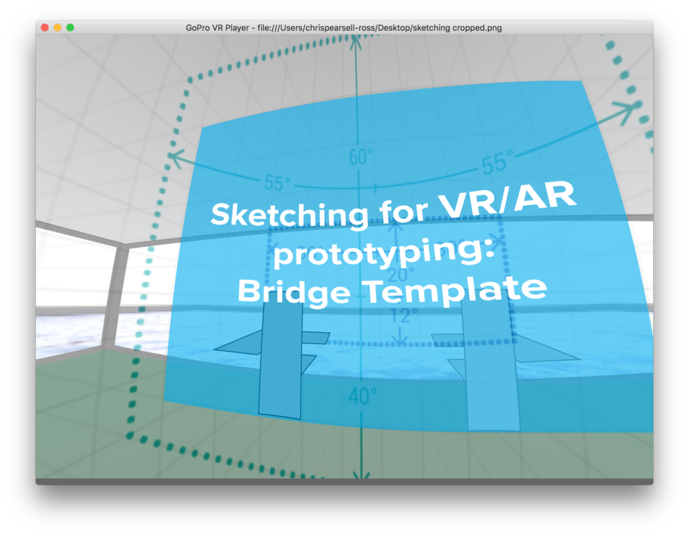 We also explored new methods of sketching and prototyping for AR environments.