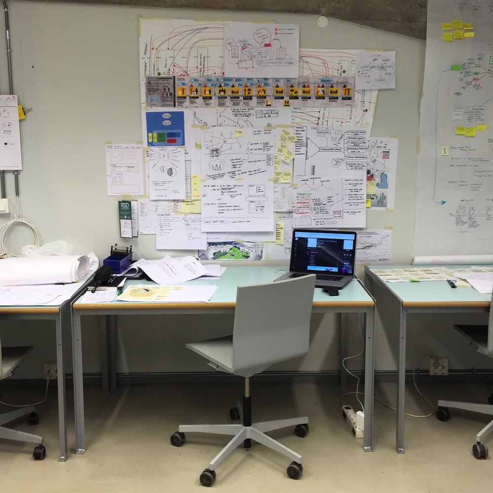 My 'rich design space' - a spatial research-by-design method described by Birger Sevaldson