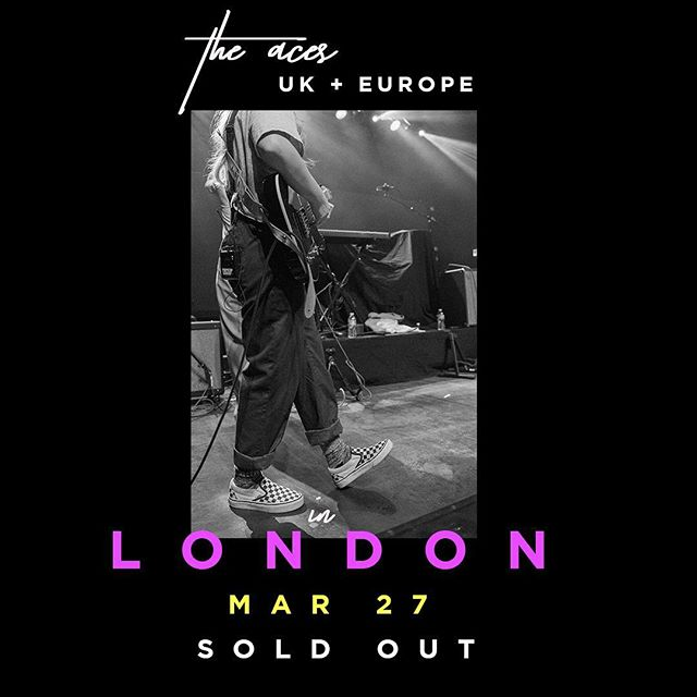 LONDON! LOOK WHAT YOU DID! See you on Tuesday ✨