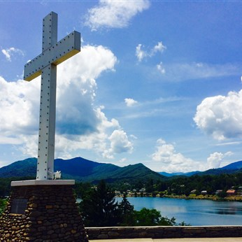 Lake Junaluska view. Photo credit: North Georgia Conference Communications.