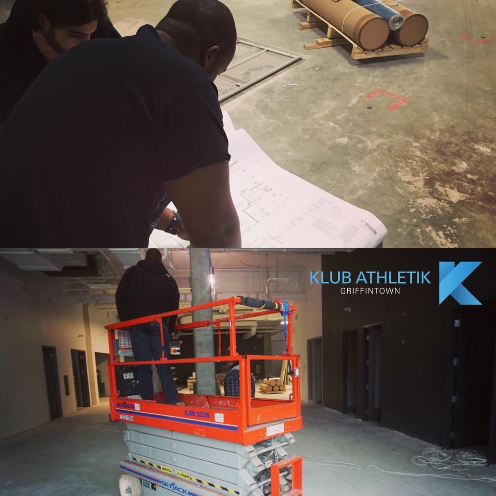 klub athletik construction update monday november 30