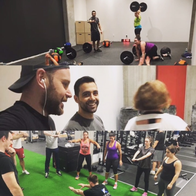 krossfit classes at klub athletik griffintown gym montreal