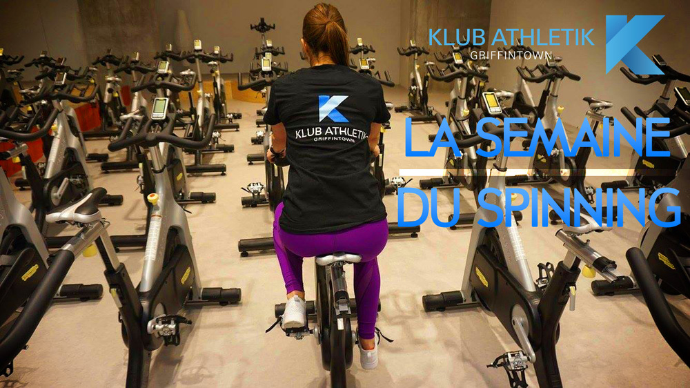 la semaine du spinning at Klub Athletik Griffintown Montreal