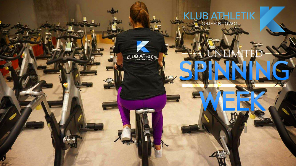 unlimited spinning week at Klub Athletik Griffintown MOntreal