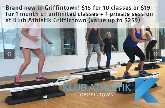 brand new in griffintown! klub athletik griffintown in montreal!