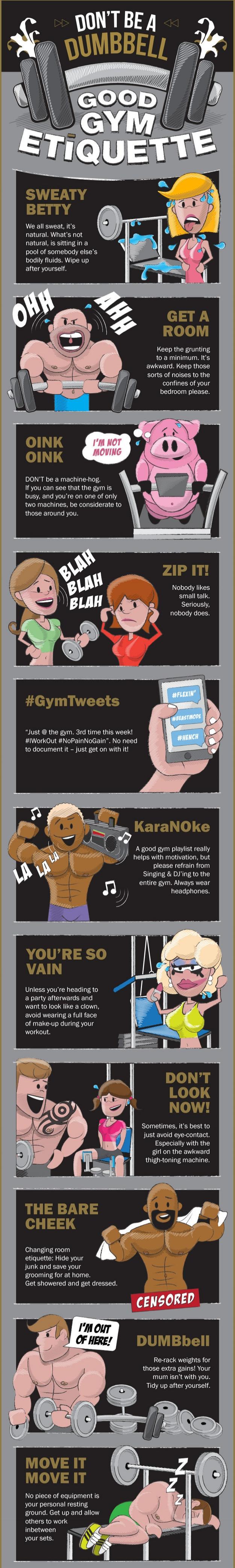 good gym etiquette rules klub athletik griffintown montreal gym