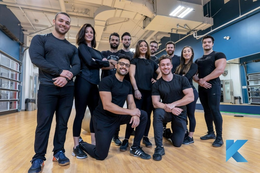 personal training team griffintown