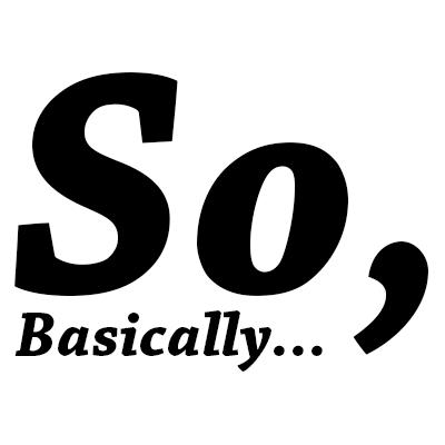 So Basically logo
