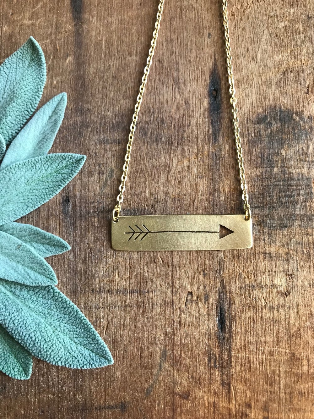 Arrow  Necklace  |  $40