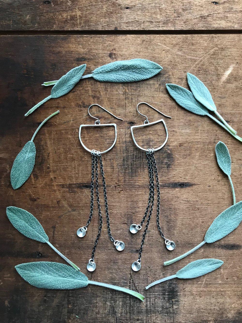 Twilight Drop Earrings |$72