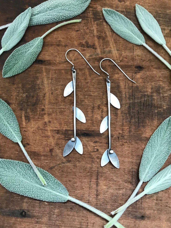 Berry Branch Earrings | $72