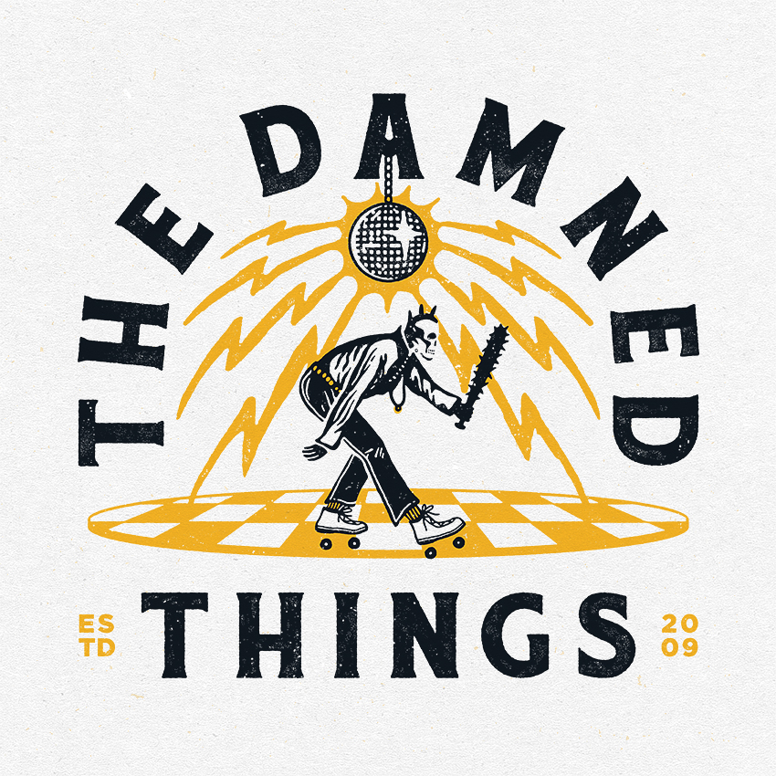 The Damned Things - Roller Disco