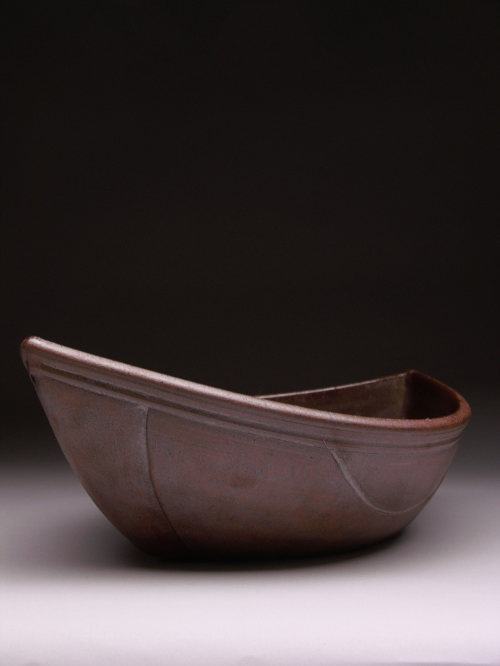 WOODFIRED CERAMIC BOAT 2004
