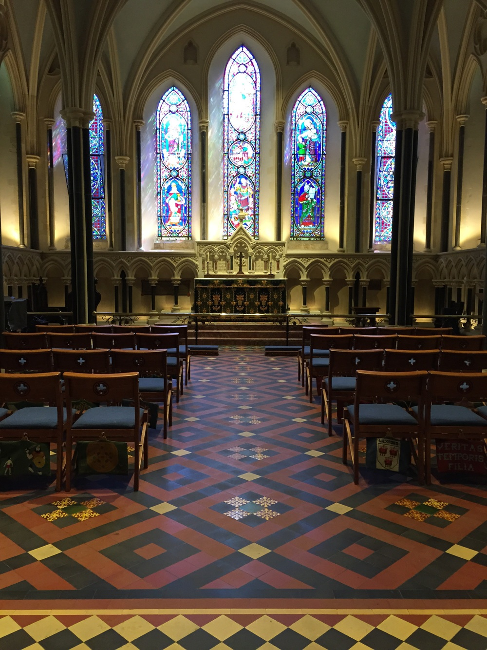 Ladies Chapel, behind the alter.