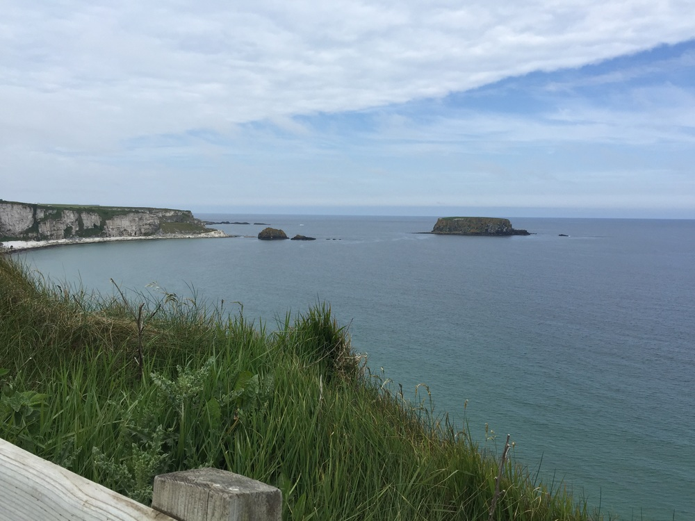 More stunning views on the cliff walk on the way back from the bridge.