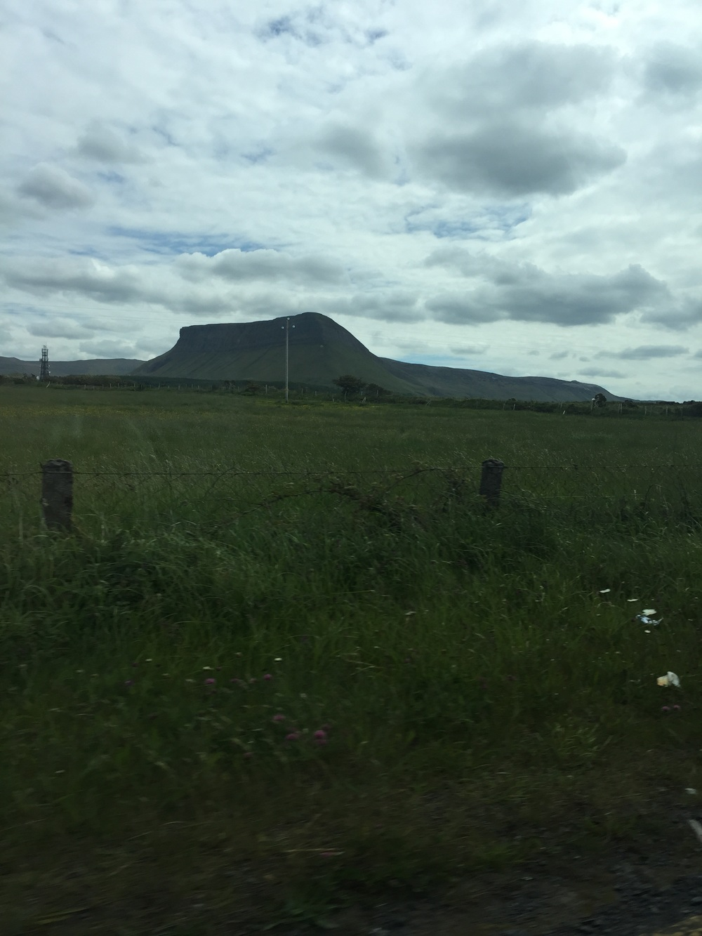 Ben Bulben and the Darty Mountains
