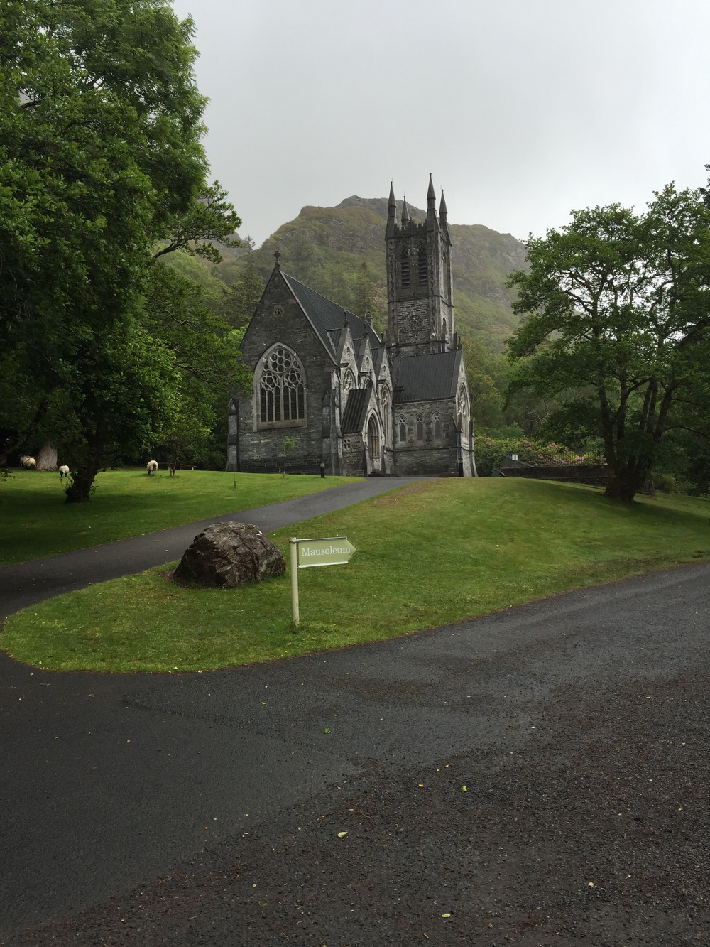 The Gothic chirch