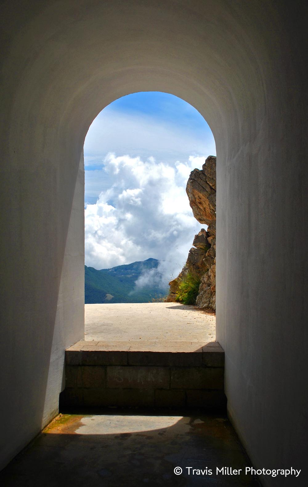 Montenegrin Mountaintop Mausoleum /  Lovćen National Park, Montenegro