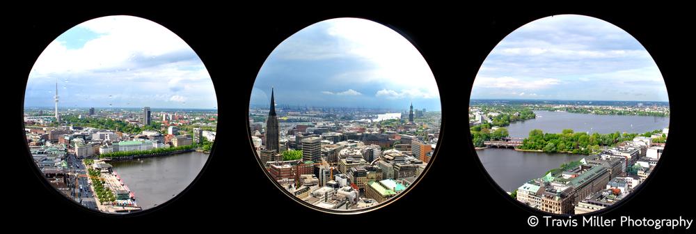 Steeple's View /  Hamburg, Germany