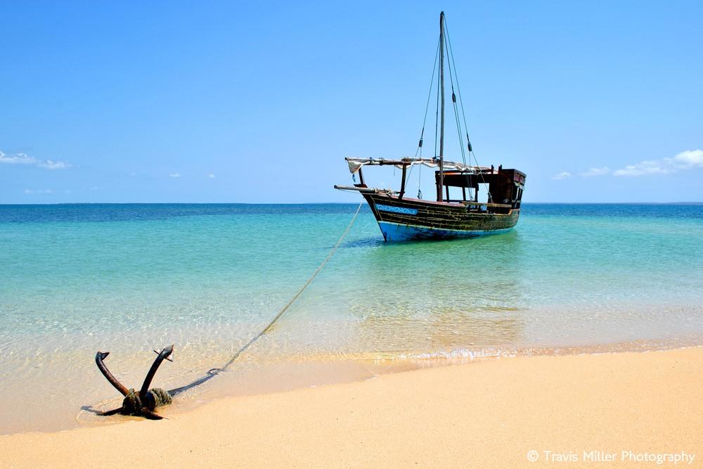 Anchored in Paradise /  Quirimbas Archipelago, Mozambique