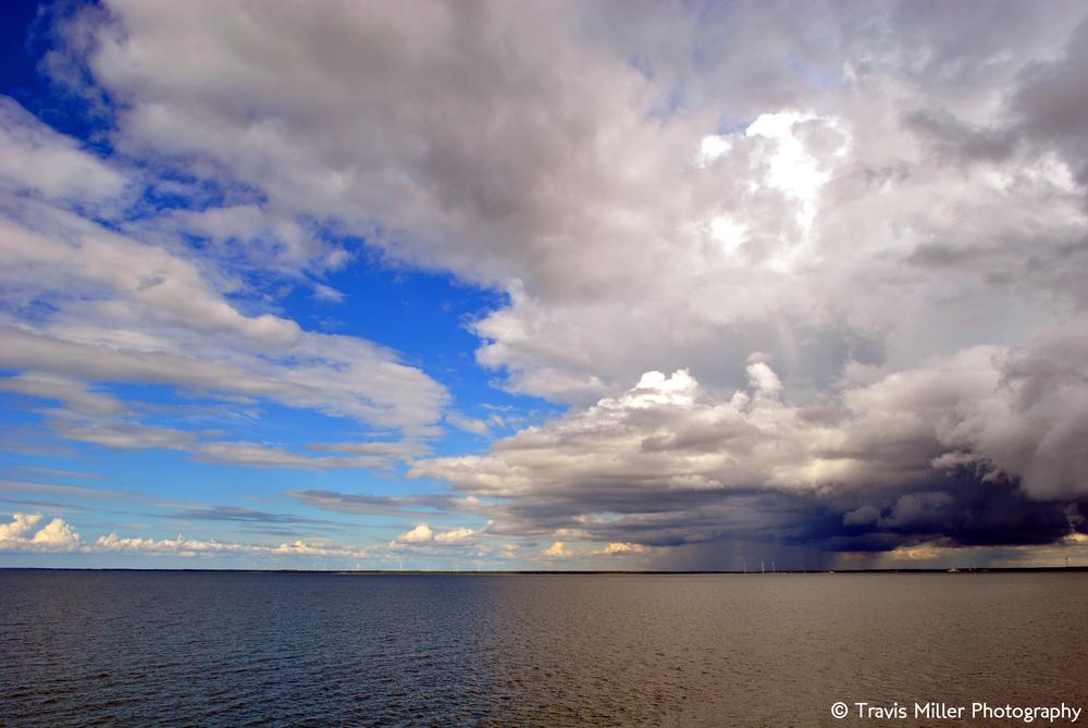 Storm on the Horizon /  Saaremaa Island Ferry Port, Estonia